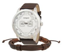 Set Herrenuhr und Armband