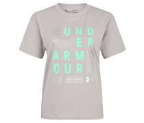 T-Shirt, atmungsaktiv, schnelltrocknend, Logo-Print