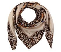 Tuch, Leoparden-Schmetterlings-Print