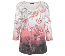 3/4 Arm Shirt, Baumwolle, floraler Print