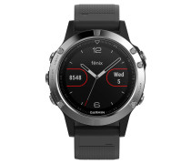 "Smartwatch ""fenix 5 Glass""  / silber 010-01688-03"