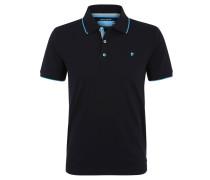 Poloshirt, Modern Fit, Piqué, Kontrast-Streifen