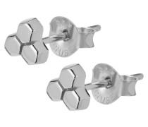 """Ohrstecker """"Essentielle Three Hexagon""""  CLJ52017"""