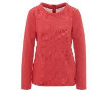 Pullover, gepunktet, Rücken-Reißverschluss