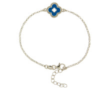 """Armband """"Blume"""", Emaille, Sterling  925"""