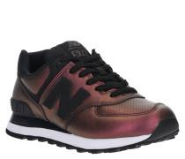 "Sneaker ""WL574"", Kunstleder, Metallic-Look, verstärkte Ferse"