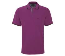 Poloshirt, Brusttasche, Kontrast-Details