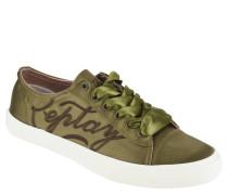 """Sneaker """"Violet"""", Satin-Optik, Logo-Stickerei"""