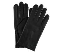 Handschuhe, Leder, Ziernähte, uni