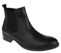 Chelsea Boots, Glattleder, Reißverschluss, Elastikeinsatz