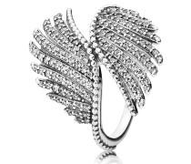 Majestic Feathers Ring Phoenixfedern mit Zirkonia 190960CZ-54
