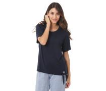 T-Shirt, uni, Schleife zum binden