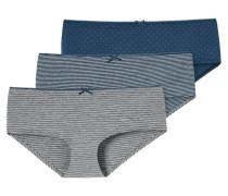 Panty, 3er-Pack, Schleife