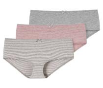 Panty, 3er-Pack, Ringel