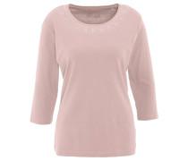 Shirt, 3/4-Arm, uni, Nieten, Bio-Baumwolle