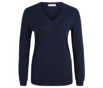 Pullover, Baumwolle, Strick, V-Ausschnitt