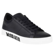 Sneaker, Leder, Logo-Applikation, Statement-Sohle