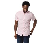 Freizeithemd, Modern Fit, Streifen, Button-Down-Kragen