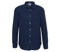 Freizeithemd, Regular Fit, dezentes Karo-Muster