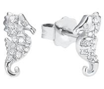 Mädchen-Ohrringe Seepferdchen