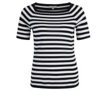 T-Shirt, Kurzarm, Feinstrick, gestreift