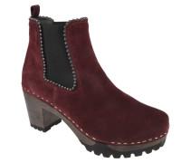 Chelsea Boots, Ziernähte, Blockabsatz, Nieten