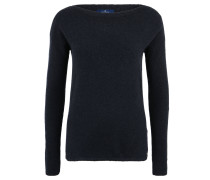 Pullover, Woll-Anteil, Feinstrick, meliert