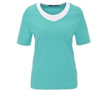 T-Shirt, Lagen-Look, Baumwolle