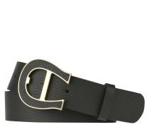 Gürtel, Leder, Dornschließe, Logo-Design