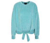 Sweatshirt, Nicki, Schleife, uni