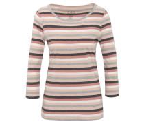 Shirt, 3/4-Arm, Streifen-Muster, Baumwolle