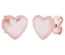 Ohrringe Herz Liebe Basic Filigran 925 Sterling Silber