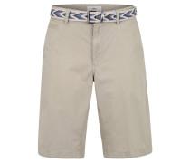 "Shorts ""Bari"", Regular Fit, Baumwolle, Gürtel, unifarben"