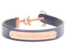 Ankerarmband Signum Collection IP Roségold Grau PH-FSC-R-GR-S
