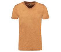 T-Shirt, Slim-Fit, V-Ausschnitt