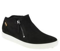Sneaker, Veloursleder, seitlicher Reißverschluss
