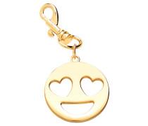 """Schlüsselanhänger """"Heart Eyes Emoji"""