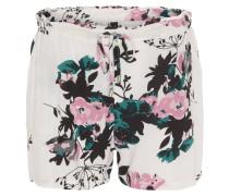 Shorts, Blumenmuster, Gummibund