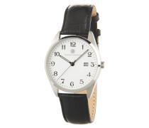 Classic Herrenuhr, Leder-Armband