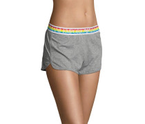 Panty, Logo-Aufschrift am Bund, meliert
