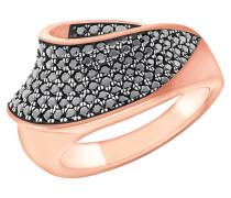 Ring 2023504, Sterling Silber 925, rosévergoldet