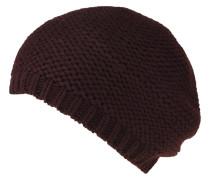 Mütze, Strick, Rippbund, uni
