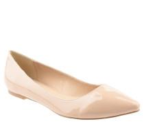 Ballerinas, Lack, spitz, flacher Absatz