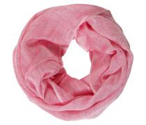 Loop-Schal, unifarben, Leinen-Anteil