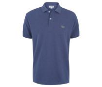 Poloshirt, Classic Fit, Baumwolle, Piqué, meliert