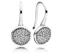 Shimmering Droplets Ohrhänger mit Zirkonia 290734CZ