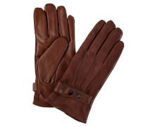 Handschuhe, Schafsleder, Riemen, Wollfutter