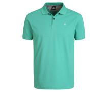 Poloshirt, Baumwolle, Logo-Stickerei, unifarben