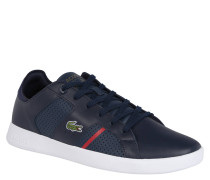 "Sneaker ""Novas"", Glattleder, Emblem"