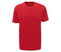 T-Shirt, Basic, Rundhalsausschnitt, Logo-Stickerei
